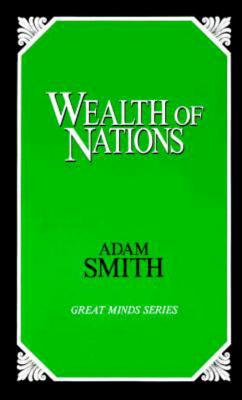 Wealth of Nations (Great Minds Series), Smith, Adam