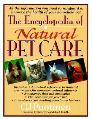 Image for The Encyclopedia of Natural Pet Care