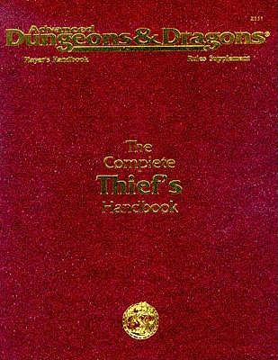 Image for The Complete Thief's Handbook: Player's Handbook Rules Supplement, 2nd Edition (Advanced Dungeons & Dragons)