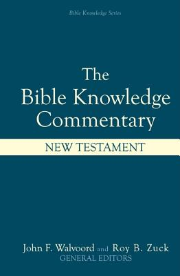 Image for Bible Knowledge Commentary : New Testament