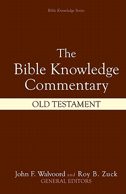 Image for The Bible Knowledge Commentary (Old Testament:)