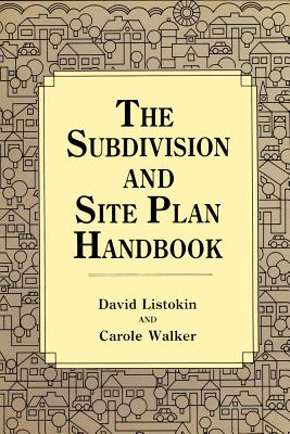 Image for SUBDIVISION AND SITE PLAN HANDBOOK