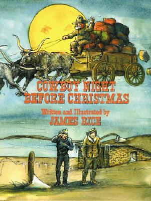 Image for Cowboy Night Before Christmas formerly titled Prairie Night Before Christmas 3rd printing 1993 hardback