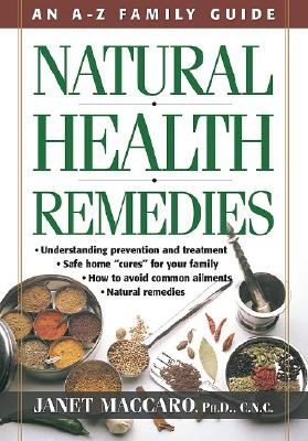 Image for Natural Health Remedies: An A-Z Family Guide