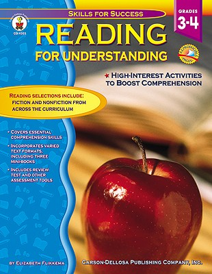 Image for Reading for Understanding, Grades 3 - 4: High Interest Activities to Boost Comprehension (Skills for Success)