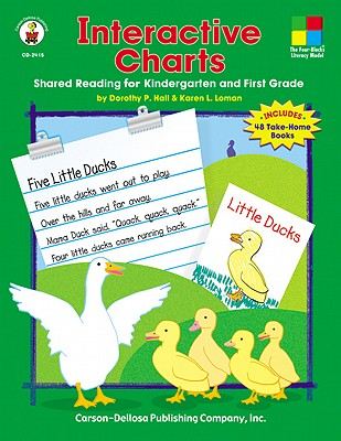 Image for Interactive Charts: Shared Reading for Kindergarten and First Grade (Four-Blocks Literacy Model)
