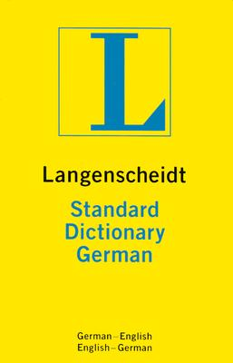 Image for Langenscheidt's Standard German Dictionary: German-English / English-German (German Edition)