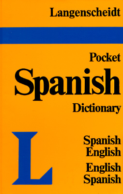 Image for Langenscheidt's Pocket Spanish Dictionary: Spanish - English & English - Spanish