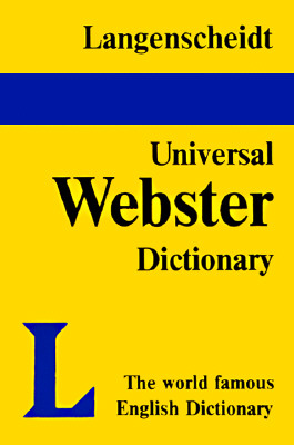 Image for UNIVERSAL WEBSTER ENGLISH DICTIONARY