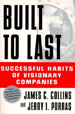Image for BUILT TO LAST SUCCESSFUL HABITS OF VISIONARY COMPANIES