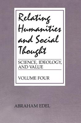 Image for RELATING HUMANITIES AND SOCIAL THOUGHT
