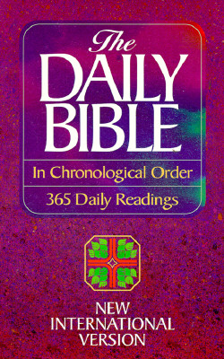 Image for The Daily Bible in Chronological Order: 365 Daily Readings (New International Version)