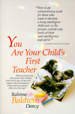 Image for You Are Your Child's First Teacher