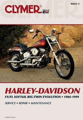 Image for Harley-Davidson FXS/FLS Softail BT Evolution 1984-1999 (M421-3) Repair Manual