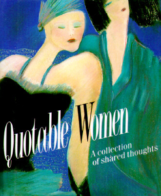 Image for Quotable Women: A Collection Of Shared Thoughts (Miniature Editions)