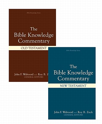 Image for Bible Knowledge Commentary (2 Volume Set) (Bible Knowledge Series)
