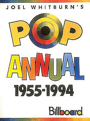 Image for Joel Whitburn's Pop Annual 1955-1994 Billboard