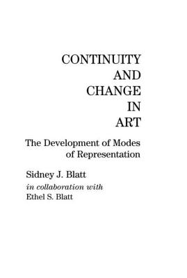 Image for Continuity and Change in Art: The Development of Modes of Representation