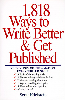 Image for 1,818 Ways to Write Better & Get Published