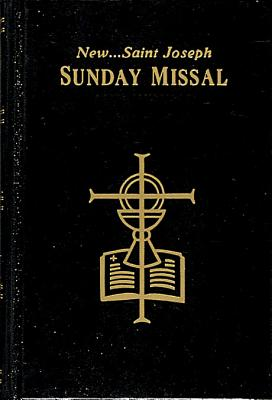 Image for The New Saint Joseph Sunday Missal & Hymnal/Black/No. 820/22-B