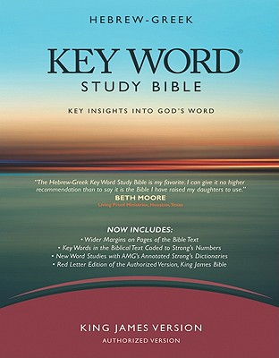 Image for Hebrew-Greek Key Word Study Bible: King James Version Black Bonded Wider Margin