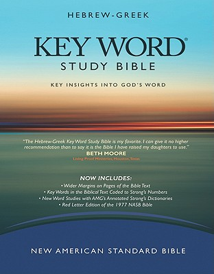 Image for Hebrew-Greek Key Word Study Bible: New American Standard Bible, Wider Margins