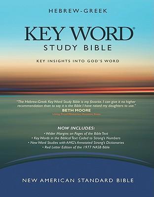 Hebrew-Greek Key Word Study Bible: New American Standard Black Bonded Wider Margin