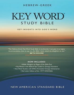 Hebrew-Greek Key Word Study Bible: New American Standard Bible, Genuine Black, Wider Margins, Spiros Zodhiates