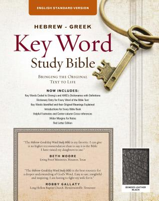 Image for The Hebrew-Greek Key Word Study Bible: ESV Edition, Black Bonded Leather (Key Word Study Bibles)
