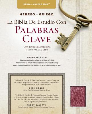 Image for The Hebrew-Greek Key Word Study Bible Spanish Edition: Reina-Valera 1960 Edition Bonded Black