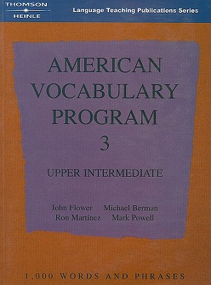 Image for American Vocabulary Program 3