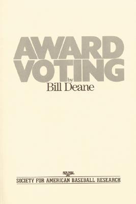 AWARD VOTING, BILL DEANE