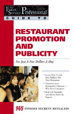 Image for By BY (AUTHOR): TIFFANY LAMBERT Food Service Professionals Guide to Restaurant Promotion & Publicity For Just a Few Dollars A Day [Paperback]
