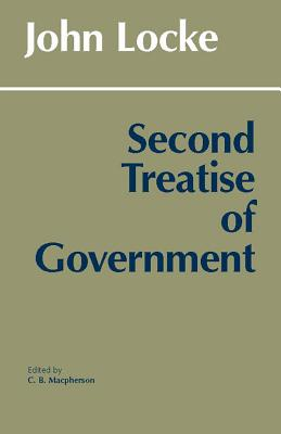 Image for SECOND TREATISE OF GOVERNMENT EDITED & INTRODUCTION BY C. B. MACPHERSON