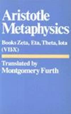 Image for Metaphysics: Books Vii-X