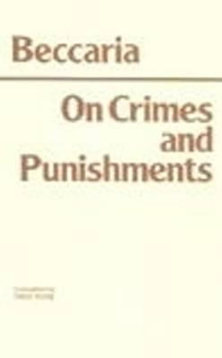 Image for On Crimes and Punishments (Hackett Classics)