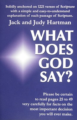 Image for What Does God Say?