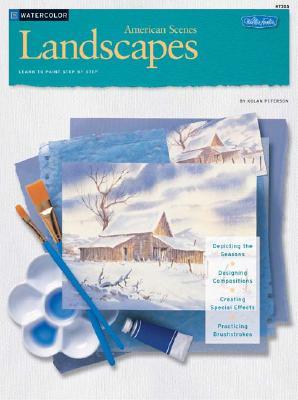 WaterColor Landscapes: American Scenes (HT205), Kolan Peterson