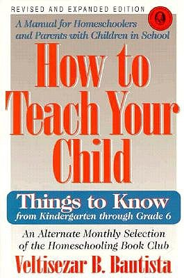 Image for How to Teach Your Child: Things to Know from Kindergarten Through Grade 6 (Education)