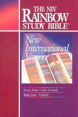 Image for NIV Rainbow Study Bible: Bold Line Edition (New International Version, Burgundy)