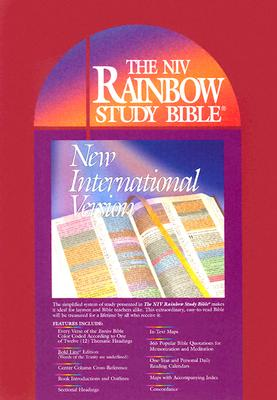 Image for Rainbow Study Bible: Bold Line Edition (New International Version, Imitation Leather, Burgundy)