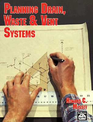 Image for Planning Drain, Waste & Vent Systems