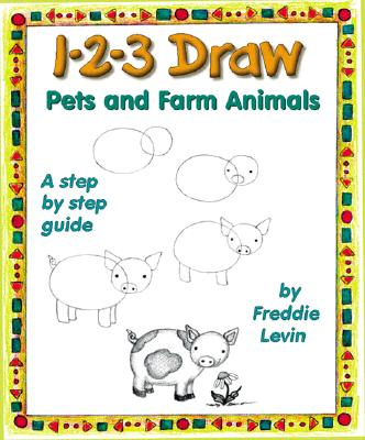 Image for 1-2-3 Draw Pets and Farm Animals