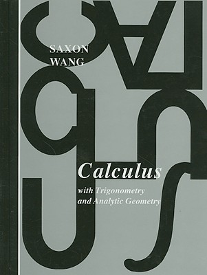 Image for Calculus With Trigonometry and Analytic Geometry