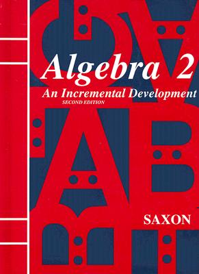 Image for Saxon Algebra 2: An Incremental Development, 2nd Edition