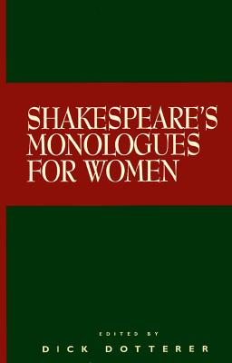 Image for Shakespeare's Monologues for Women