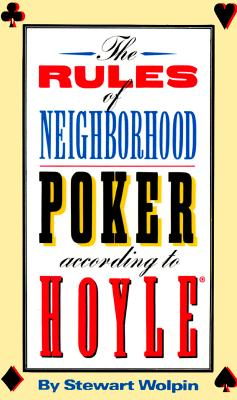 Image for RULES OF NEIGHBORHOOD POKER ACCORDING TO HOYLE