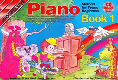 Image for Progressive Piano Method for Young Beginners Book 1 : Book 1