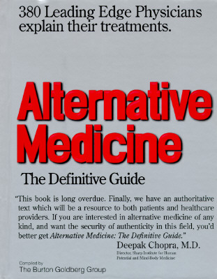 Image for Alternative Medicine: The Definitive Guide