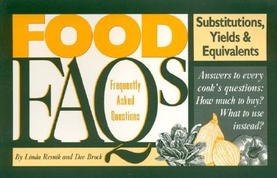 Image for Food FAQs: Substitutions, Yields & Equivalents